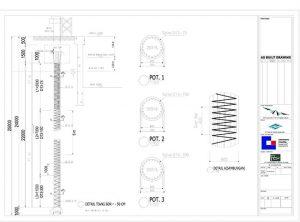 As-Built Drawing syarat slf